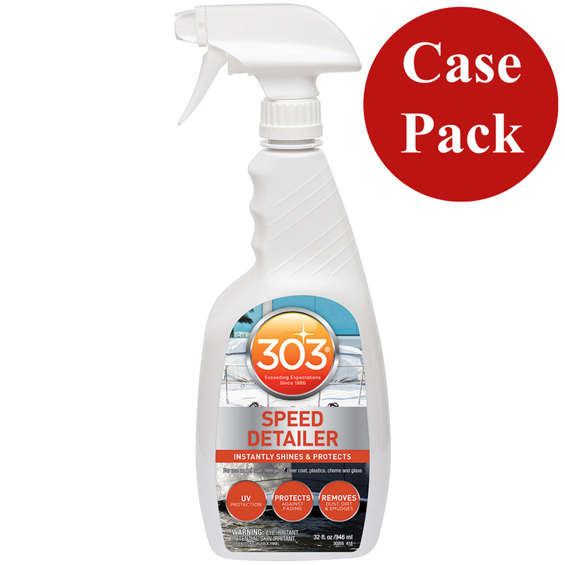 303 Marine Speed Detailer with Trigger Sprayer - 32oz *Case of 6* [30205CASE] - Mealey Marine