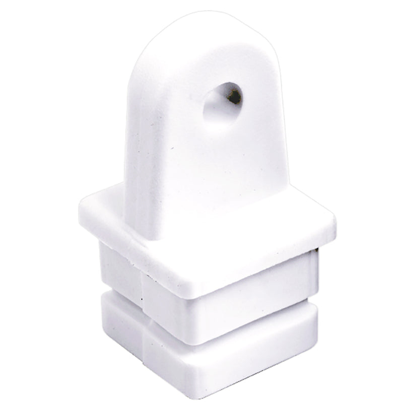 "Sea-Dog Nylon Square Tube Top Insert - White - 1"" [273581-1] - Mealey Marine"
