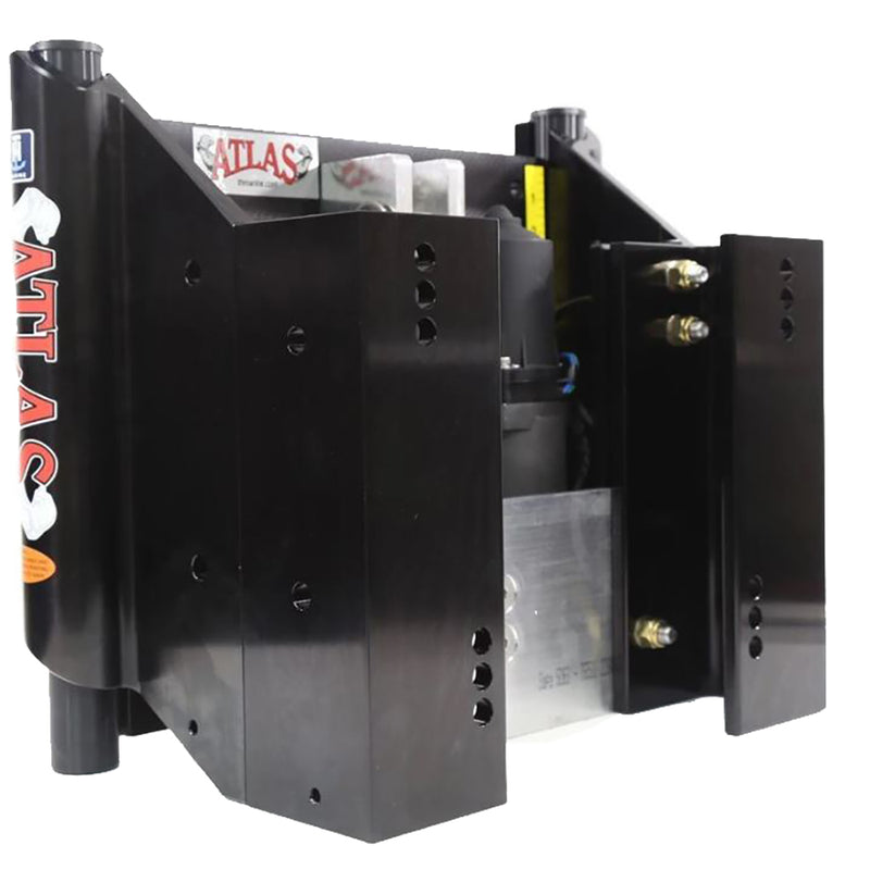 "T-H Marine ATLAS 6"" Set Back Hydraulic Jack Plate - Heavy Duty - Black [AHJ-6VHD-B-DP] [Mealey_Marine]"