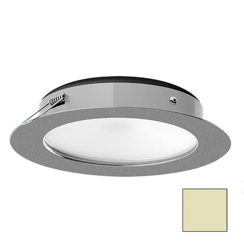 i2Systems Apeiron Pro XL A526 - 6W Spring Mount Light - Warm White - Brushed Nickel Finish [A526-41CBBR] [Mealey_Marine]