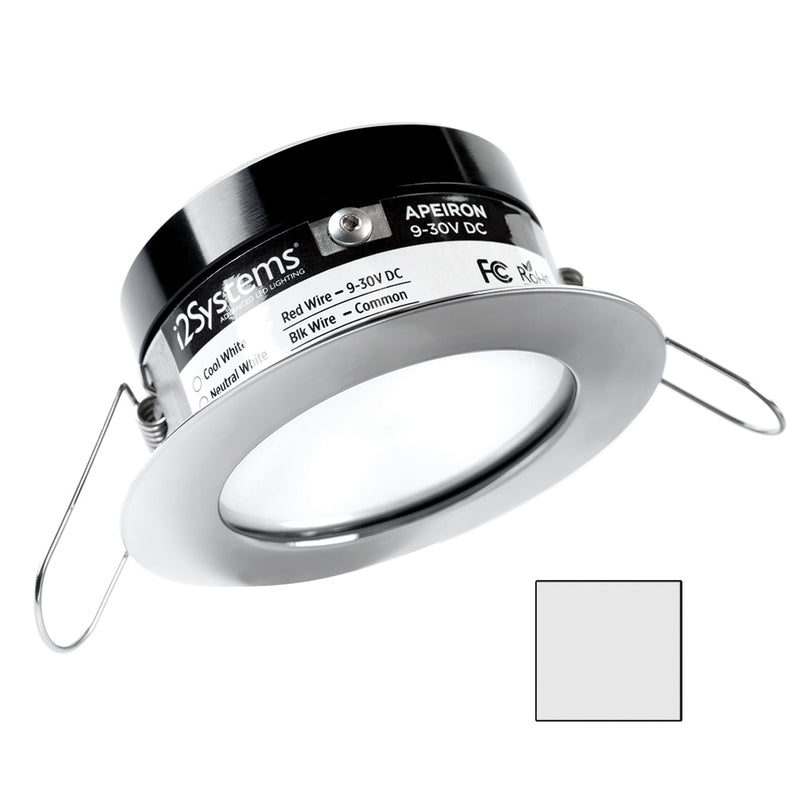 i2Systems Apeiron A503 3W Spring Mount Light - Cool White - White Finish [A503-11AAG] [Mealey_Marine]