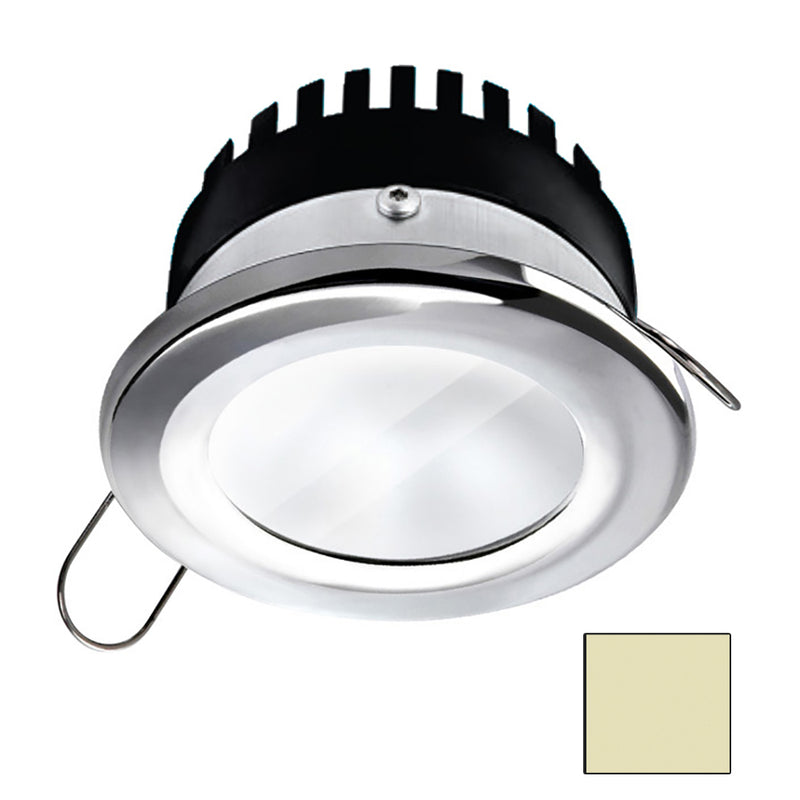 i2Systems Apeiron A506 6W Spring Mount Light - Round - Warm White - Polished Chrome Finish [A506-11CBBR] [Mealey_Marine]