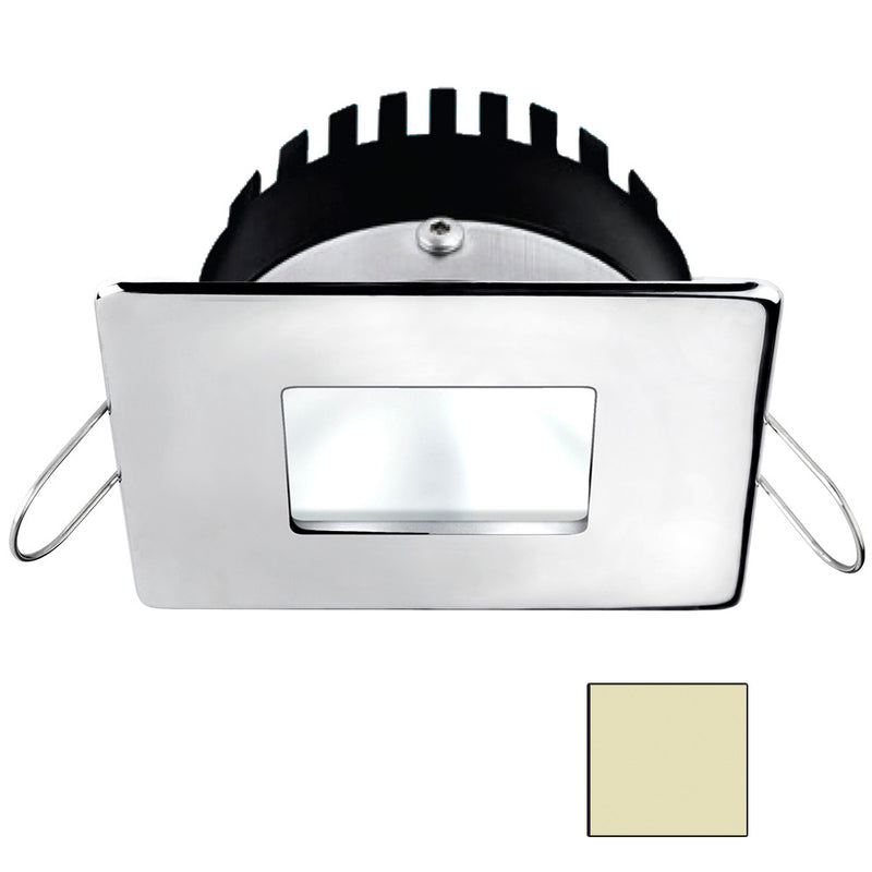 i2Systems Apeiron A506 6W Spring Mount Light - Square/Square - Warm White - Polished Chrome Finish [A506-14CBBR] [Mealey_Marine]
