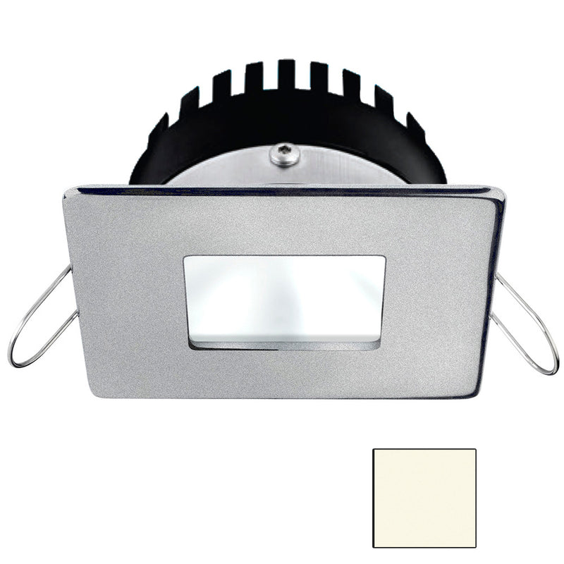 i2Systems Apeiron PRO A506 - 6W Spring Mount Light - Square/Square - Neutral White - Brushed Nickel Finish [A506-44BBD] [Mealey_Marine]