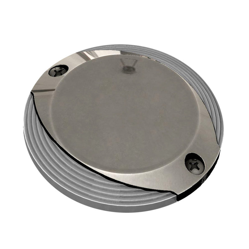 Lumitec Scallop Pathway Light - Spectrum RGBW - Stainless Steel Housing [101627] [Mealey_Marine]