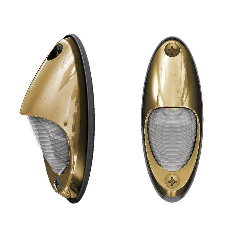 Lumitec Nautilus Piling Light - Warm White - Bronze Housing [101634] [Mealey_Marine]