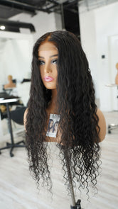 Hair System - Pure Donor Natural curly -  Closure Unit