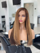 Hair System -   Pure Donor Color Hair -  FRONTAL Unit