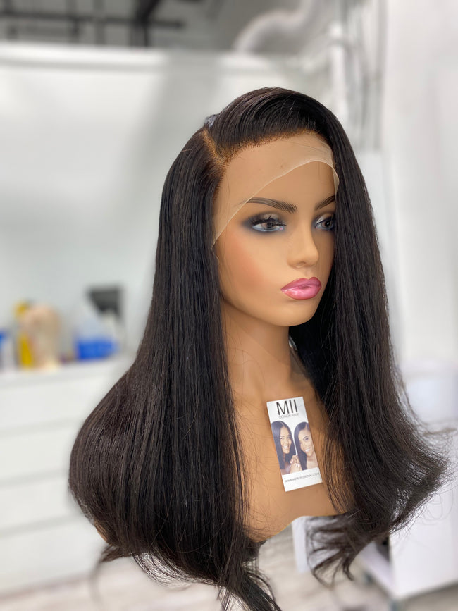 "Hair System -  Ari Pure Donor Hair- 20-22"" Frontal Unit"