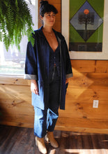 VINTAGE | Oversized Denim Jacket w Hip Pockets - Dark Denim (S-XL)
