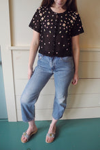 VINTAGE | Levi's 569 High Waisted Cropped Jeans - Blue Denim (25)