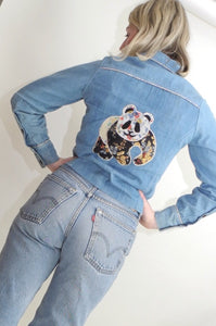 VINTAGE | World Wildlife Fund Panda Jacket - Denim (XS-S)
