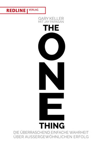 The One Thing, Garry Keller