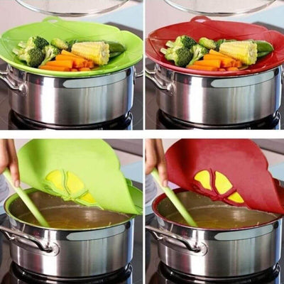 Incredible Lid Spill Stopper Pot Cover