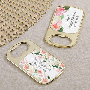 Personalized Gold Bottle Opener - Baby Brunch