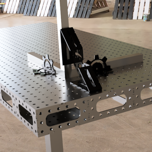 4' x 8' Universal Maker Table - DXF Files (GEN 2) (Converted to Metric)