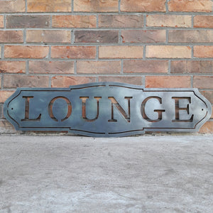 French Country Metal Sign - Customizer