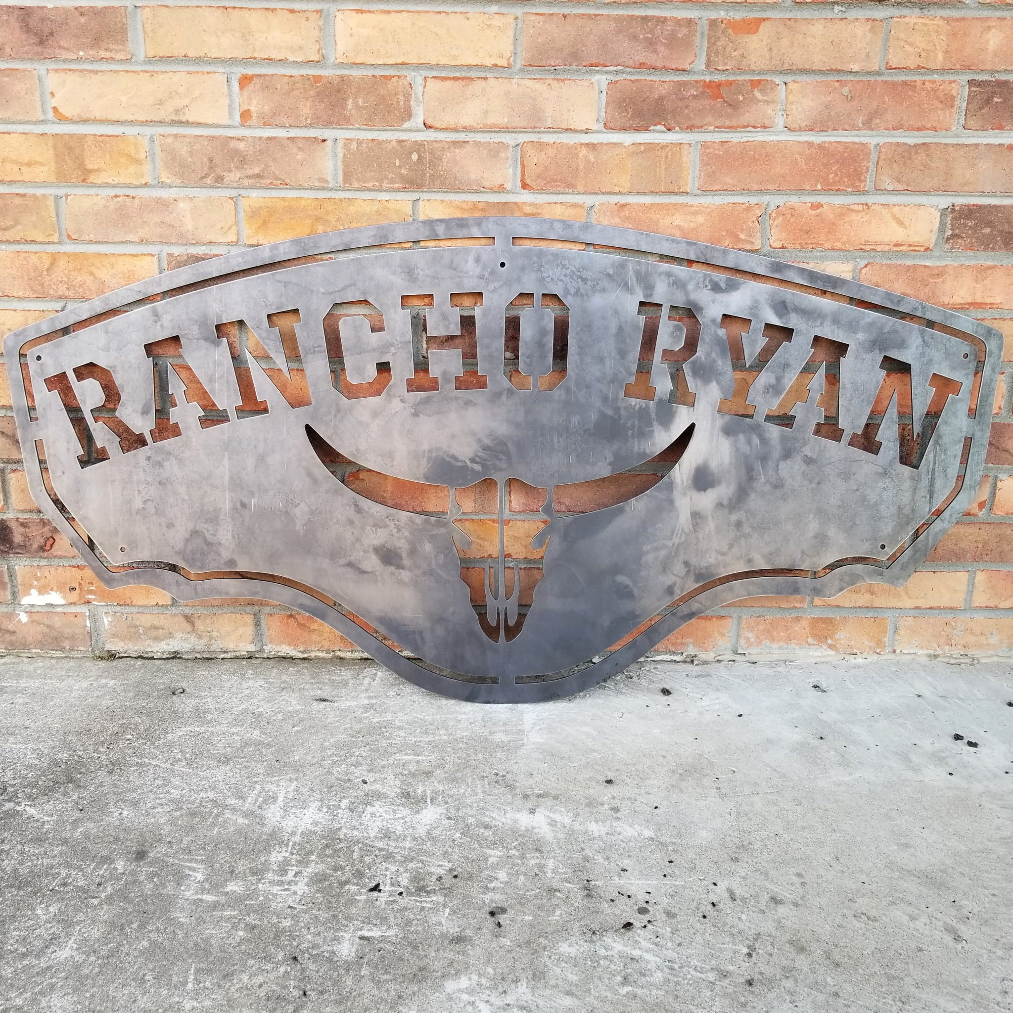 Saloon Sign Patina Wall Art wild west