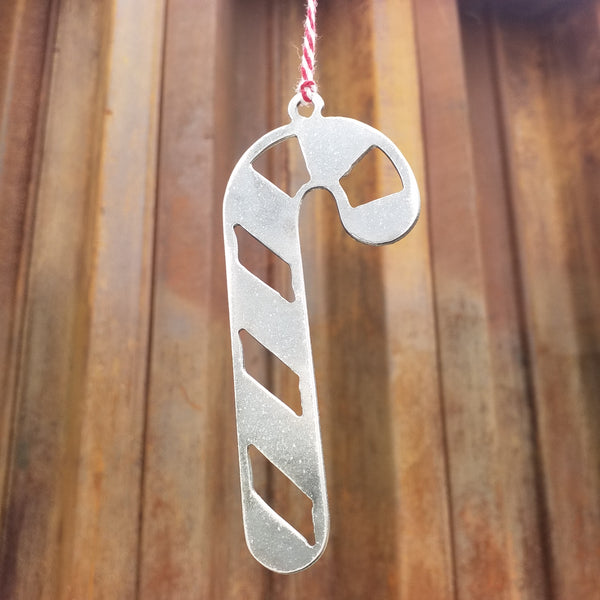 Candy Cane Christmas Ornament - FREE SHIPPING, Stocking Stuffer, Holiday Gift, Tree