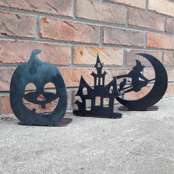 3 Piece Set Halloween Candle Holder - Tealight Display Stand