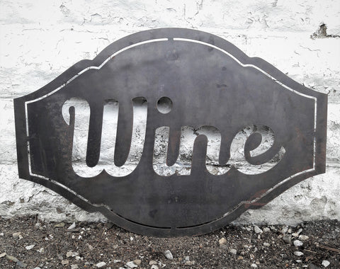 Wine Cellar Rustic Sign