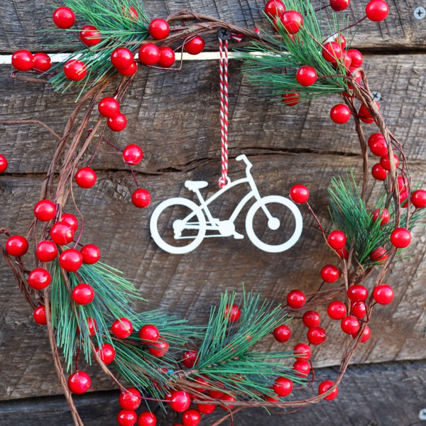 10-Speed Bicycle Christmas Ornament - Holiday Stocking Stuffer Gift - Tree Home Decor