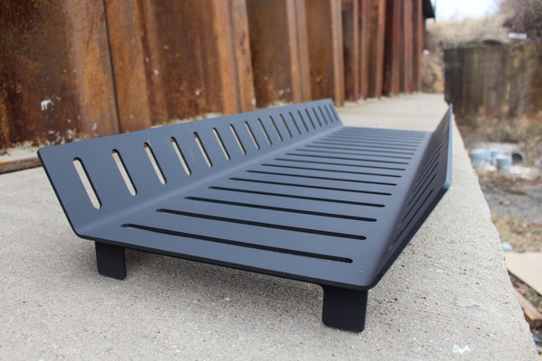 Steel Fire Pit Grate - Wood Burning - Elevated Fire Grate - Modern Outdoor Firepit - Handmade in the USA - Free Shipping