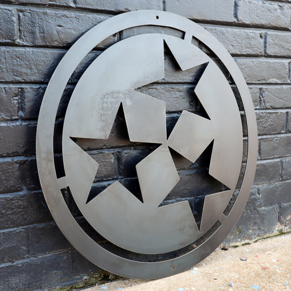 Metal Tristar Made in Tennessee - Custom Size Tristar - Steel Tri Star Gift
