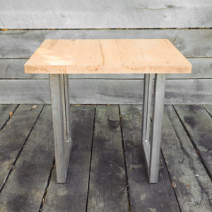Metal Table Legs (2 PC Set) - 2 INCH, Steel Table Base, DIY, Loft Style, Modern, Minimalist