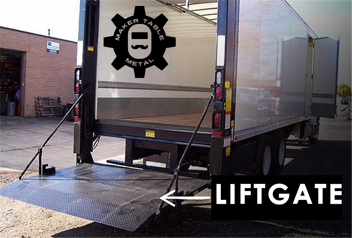 ADD LIFTGATE SERVICE