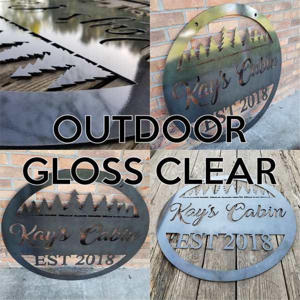 Custom Listing for Gina Grey (2 Signs)
