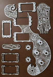 Custom Listing for Ron - Guitar Parts - Fox Model Parts