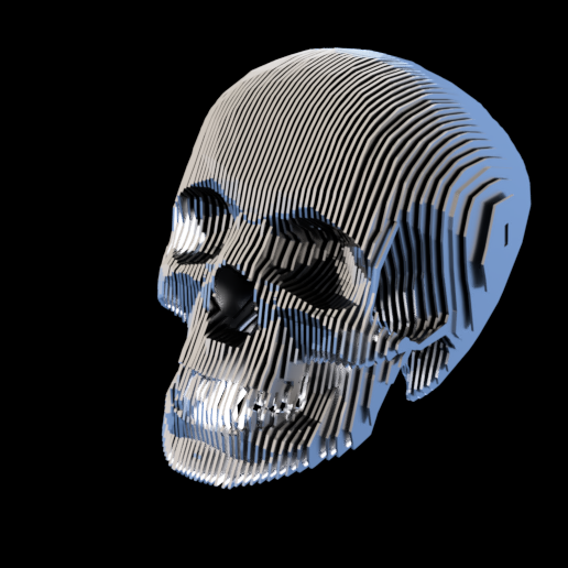 Skull of Doom - DXF Files Only