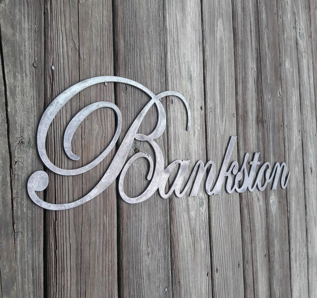 Personalized Last Name Sign BEARD Street Sign