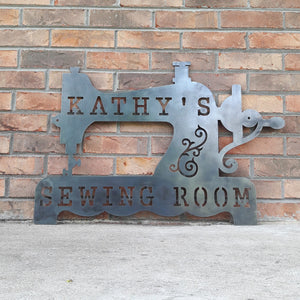 Sewing Room Sign - Personalized