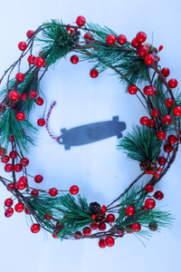Skate Board Christmas Ornament - Holiday Stocking Stuffer Gift - Tree Home Decor