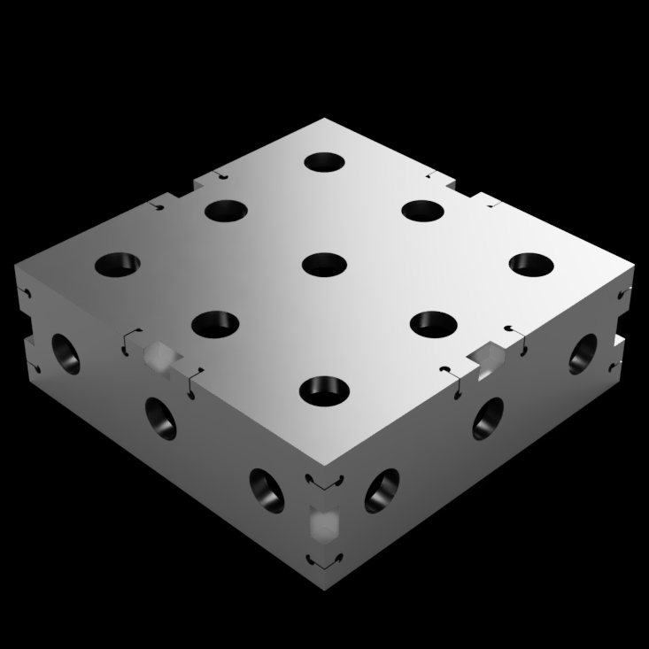 "Maker Block - 6""x6""x2"" - UMT/GMT Attachment"