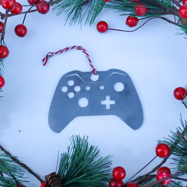 Gaming Controller Christmas Ornament - Holiday Stocking Stuffer Gift - Tree Home Decor