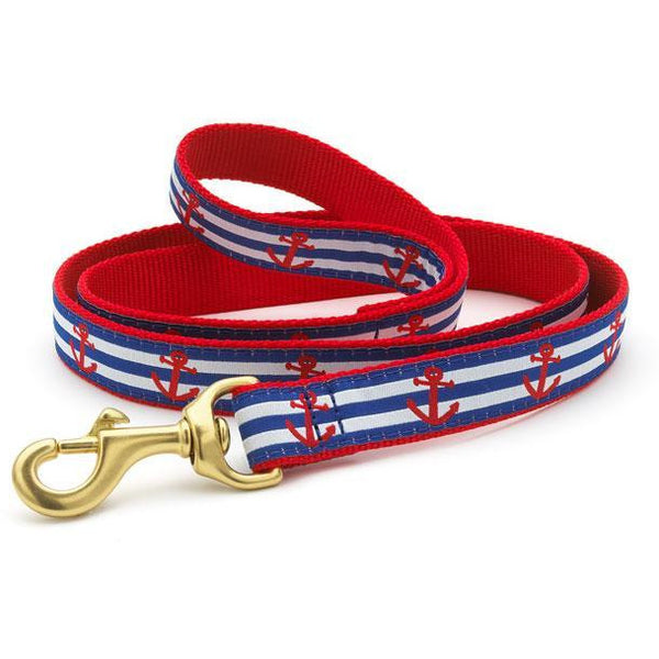 Up Country Anchors Aweigh Dog Leash, 6-ft