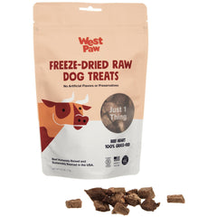 West Paw Freeze-Dried Beef Heart Dog Treats, 2.5-oz