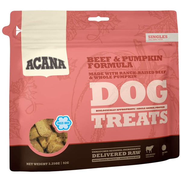 Acana Beef & Pumpkin Freeze Dried Dog Treats