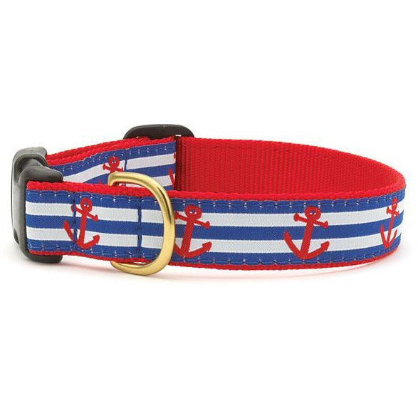 Up Country Anchors Aweigh Dog Collar