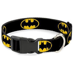 Buckle-Down Batman Dog Collar - Cleaner Tails