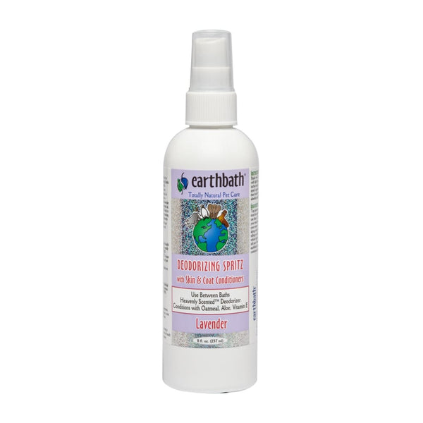 Earthbath Deodorizing Spritz, Lavender, 8 oz. - Cleaner Tails