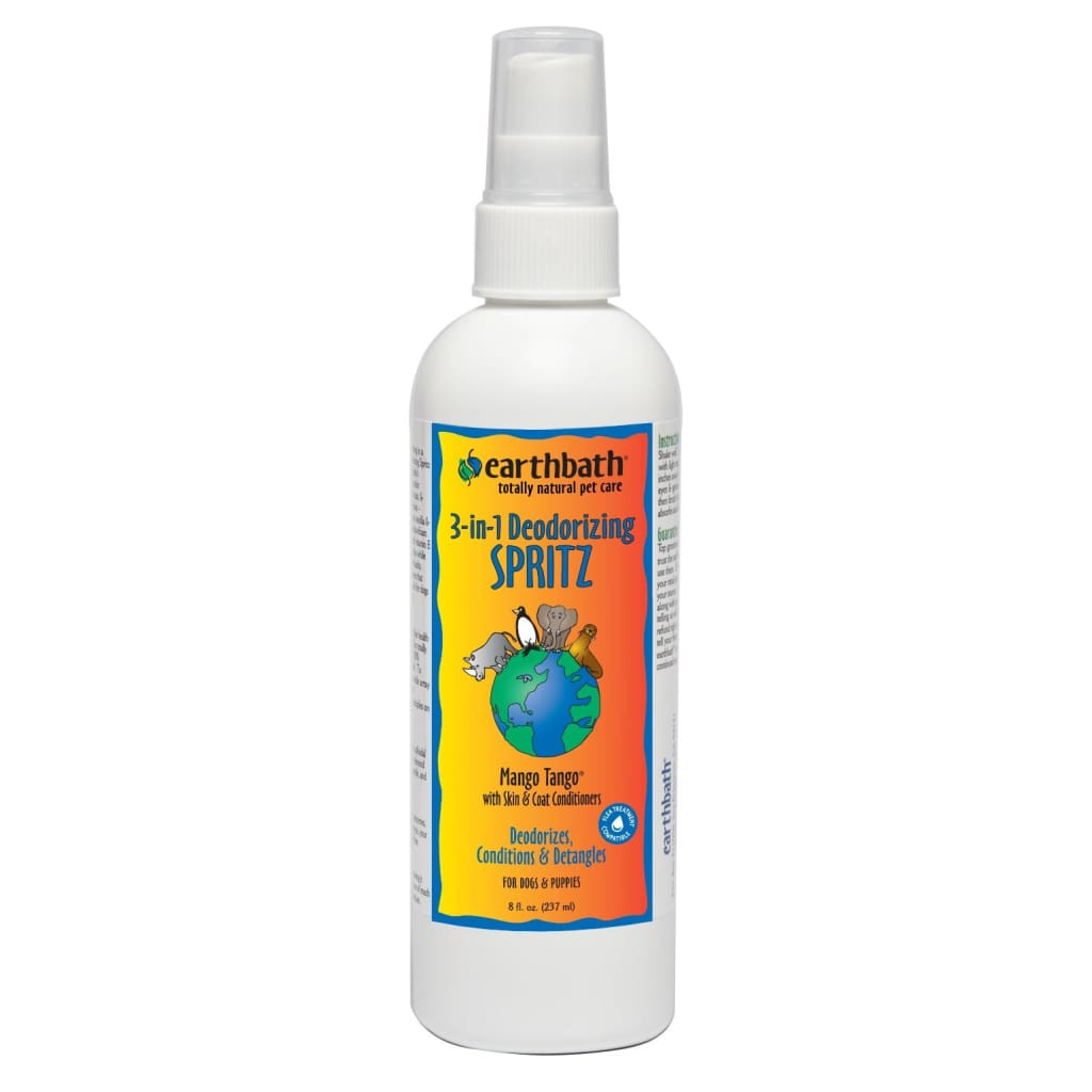 Earthbath Deodorizing Spritz, Mango Tango, 8 oz. - Cleaner Tails