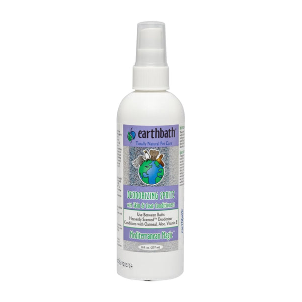 Earthbath Deodorizing Spritz, Mediterranean Magic, 8 oz. - Cleaner Tails