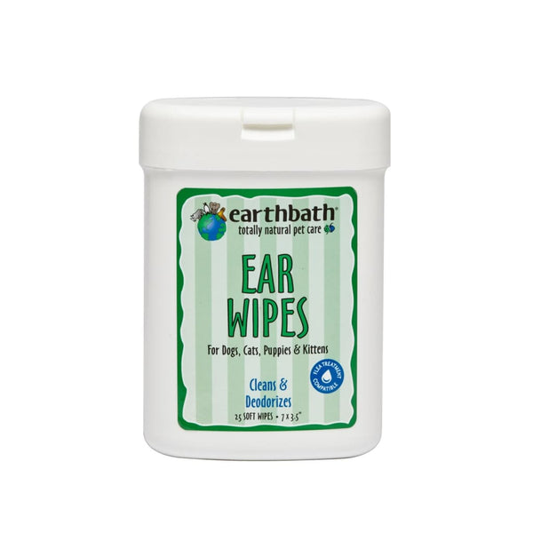 Earthbath Ear Wipes, 25 ct. - Cleaner Tails