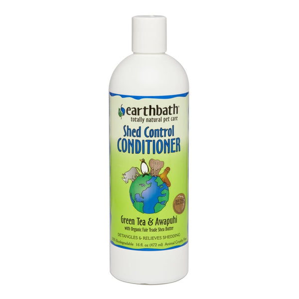 Earthbath Shed Control Conditioner, 16 oz. - Cleaner Tails