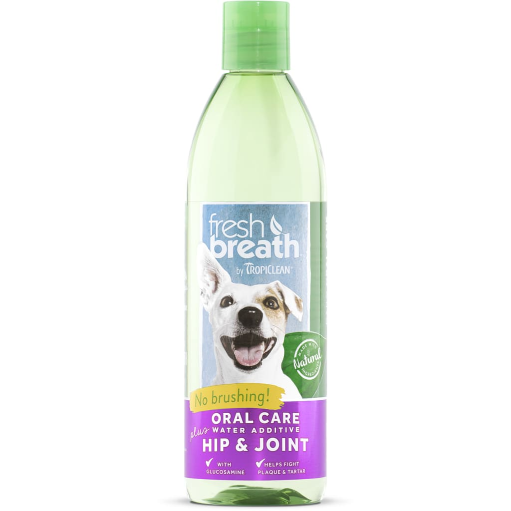 Fresh Breath Dog Water Additive Hip & Joint - Cleaner Tails