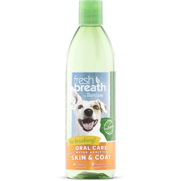Fresh Breath Dog Water Additive Skin & Coat - Cleaner Tails